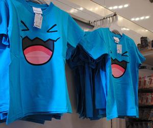 blue, shirt, and t-shirt image
