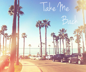 summer, beach, and take me back image