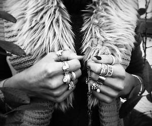accessories, clothes, and rings image