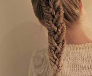 girl, hair, and pigtail image