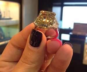 ring, luxury, and nails image