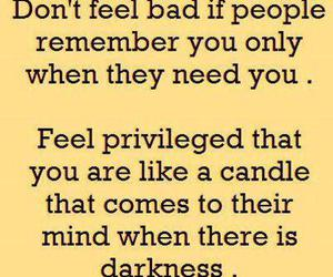 quotes, candle, and Darkness image