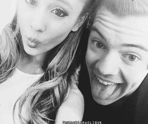 cute couple, Harry Styles, and hariana image
