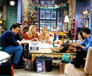 friends, christmas, and f.r.i.e.n.d.s image