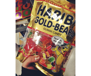 candy, gummy bears, and haribo image