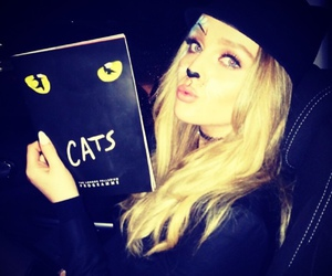 perrie edwards, little mix, and cat image