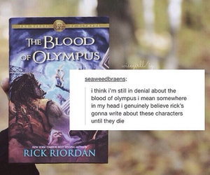 books, fandom, and percy jackson image