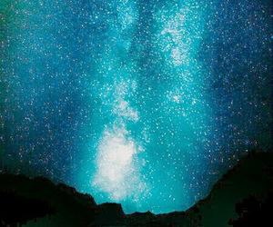 stars, night, and nature image