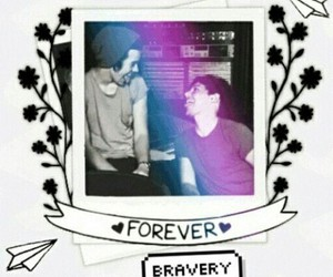 bravery, louis tomlinson, and Harry Styles image