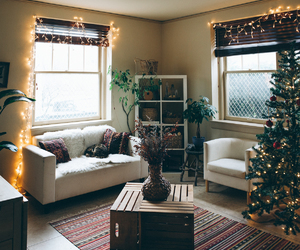 decoration, house, and living room image