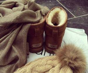winter, fashion, and ugg image