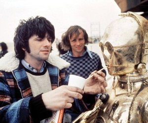 c3po, star wars, and behind the scenes image