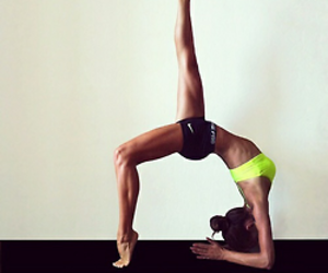 body, fitness, and stretching image