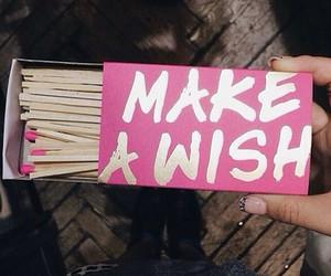 pink, make a wish, and wish image