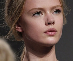 model, frida gustavsson, and fashion image