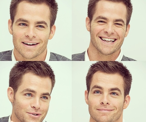 actor, chris pine, and eyes image