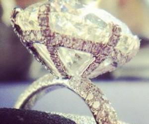 diamond, ring, and luxury image