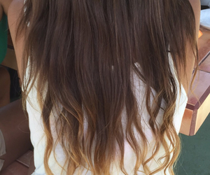 hair, Mechas, and californianas image