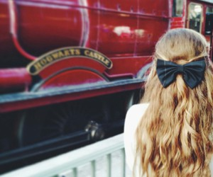 blonde, hair, and harry potter image