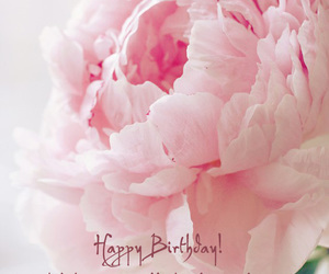birthday, flower, and anniversaire image