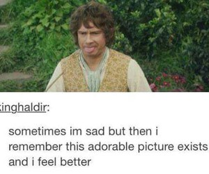 funny, the hobbit, and Martin Freeman image