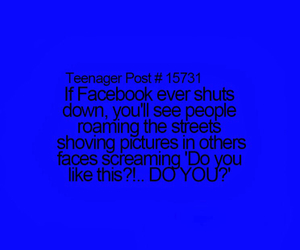 facebook, funny, and like image