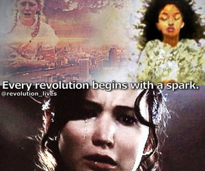 prim, catching fire, and katniss everdeen image