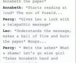 fandom, funny, and percy jackson image