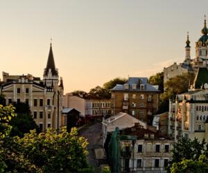 city, ukraine, and architecture image
