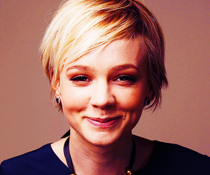 blonde, hairstyle, and short hair image