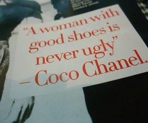 shoes, chanel, and coco chanel image