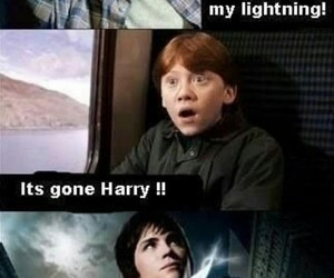 harry potter, funny, and percy jackson image