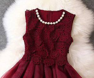 beautiful, marsala, and dress image