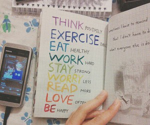 diary, journal, and motivation image