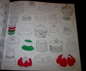 book, cake, and lauryrow image