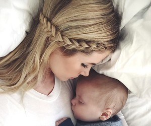 baby and mom image