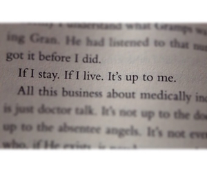 quotes, if i stay, and gayle forman image