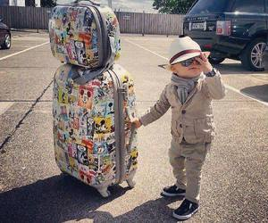 baby, boy, and travel image