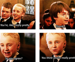 harry potter, lol, and mean girls image
