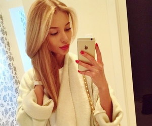 blonde, clothes, and face image