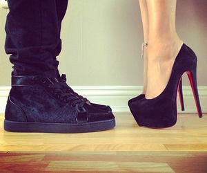 couple, her, and shoes image