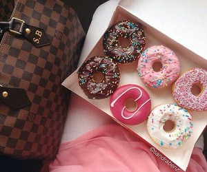 colours, style, and donuts image