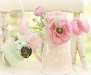 pastel, vintage, and shabby chic image