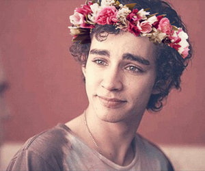actor, beautiful, and flower crown image