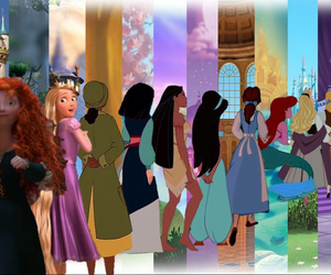 disney, princess, and disney princess image