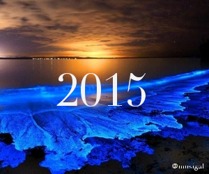 blue, pretty, and 2015 image
