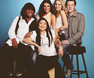 g, lea michele, and cory monteith image