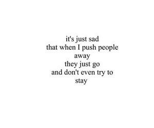 sad, quotes, and stay image