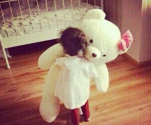baby, cute, and teddy image