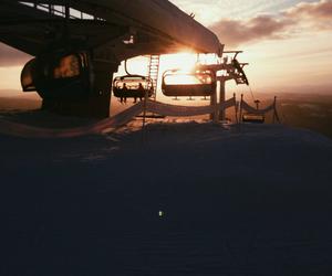 beautiful, lift, and Skiing image